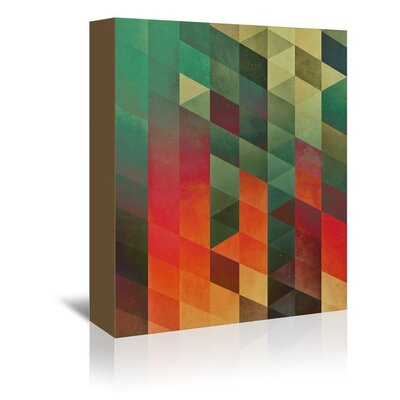 Americanflat Ceana Graphic Art Wrapped on Canvas