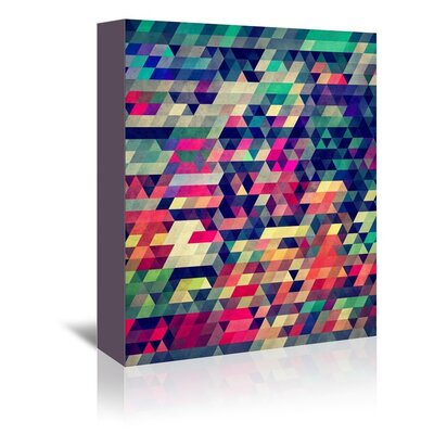 Americanflat Pinxa Graphic Art Wrapped on Canvas
