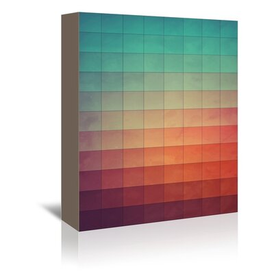 Americanflat Ryna Wall Graphic Art Wrapped on Canvas