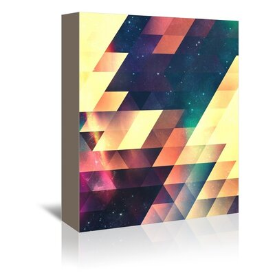 Americanflat Unia Wall Graphic Art on Wrapped Canvas