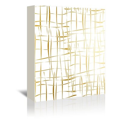 Americanflat Cage Graphic Art Wrapped on Canvas
