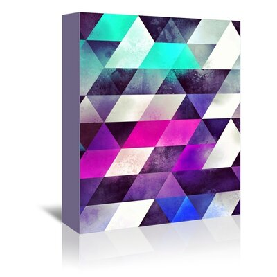 Americanflat Garize Graphic Art Wrapped on Canvas
