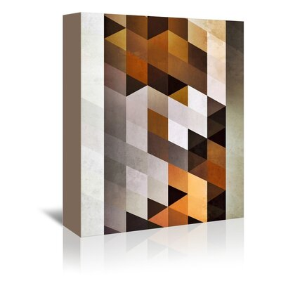 Americanflat Dyan Wall Graphic Art on Wrapped Canvas