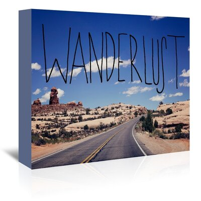 Americanflat American Wanderer Graphic Art Wrapped on Canvas