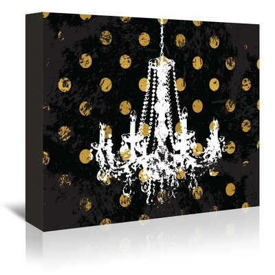 Americanflat Versailles Graphic Art Wrapped on Canvas