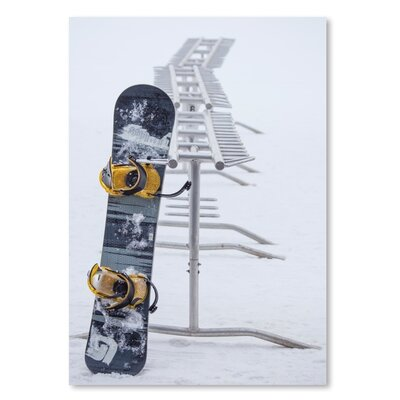 Americanflat Skateboard Photographic Print on Wrapped Canvas