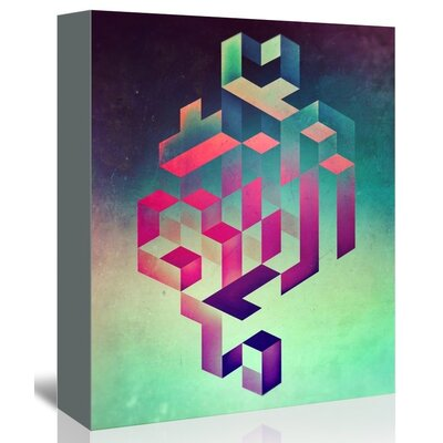 Americanflat Spyia Wall Graphic Art Wrapped on Canvas
