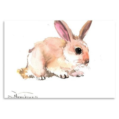 Americanflat 'Bunny 4' by Suren Nersisyan Art Print Wrapped on Canvas