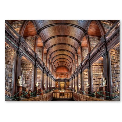 Americanflat 'Library' by Lina Kremsdorf Photographic Print on Wrapped Canvas