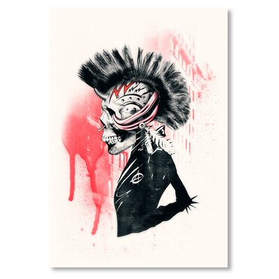 Americanflat 'Punk' by Ali Gulec Graphic Art on Wrapped Canvas