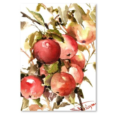 Americanflat 'Apples' by Suren Nersisyan Painting Print on Wrapped Canvas
