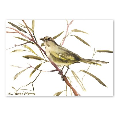 Americanflat 'VF Sparrow' by Suren Nersisyan Painting Print on Wrapped Canvas