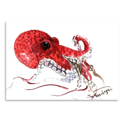 Americanflat 'Octopus' by Suren Nersisyan Painting Print on Wrapped Canvas