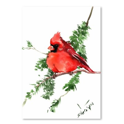 Americanflat 'Cardinal 3' by Suren Nersisyan Painting Print on Wrapped Canvas