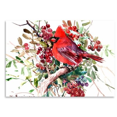 Americanflat 'Cardinal 6' by Suren Nersisyan Art Print Wrapped on Canvas