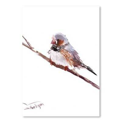 Americanflat 'Zabrafinch' by Suren Nersisyan Painting Print on Wrapped Canvas