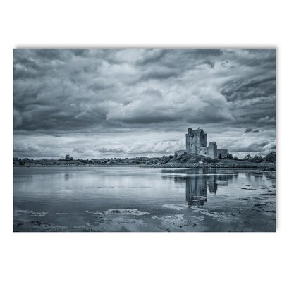 Americanflat Grey House Photographic Print on Wrapped Canvas