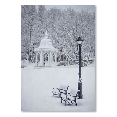 Americanflat Snow White Park Photographic Print on Wrapped Canvas