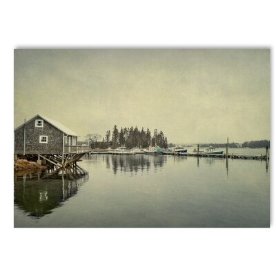 Americanflat House on Lake Photographic Print on Wrapped Canvas