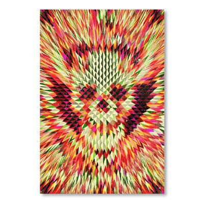 Americanflat 'Geo Skull' by Ali Gulec Graphic Art on Wrapped Canvas