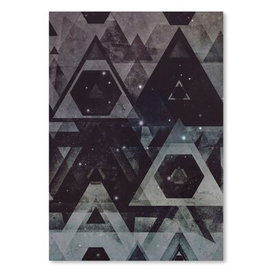 Americanflat Tyx Tryy Graphic Art on Wrapped Canvas
