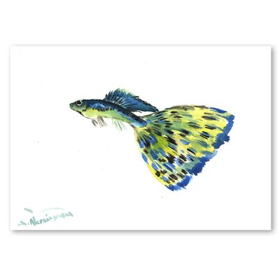 Americanflat 'Guppy' by Suren Nersisyan Painting Print on Wrapped Canvas