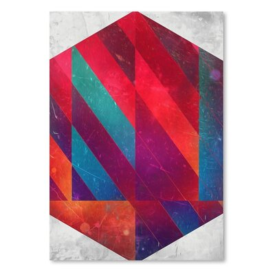 Americanflat 9 Hyx Graphic Art Wrapped on Canvas