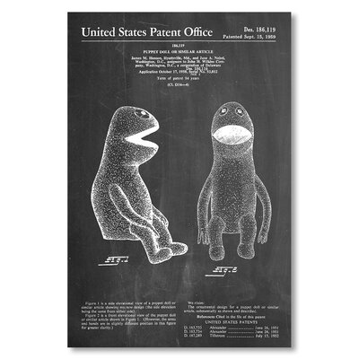 Americanflat 'Muppet II' by House of Borders Graphic Art on Wrapped Canvas