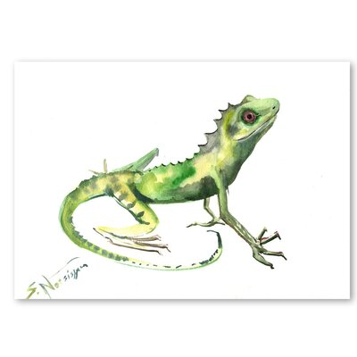 Americanflat 'Lizard' by Suren Nersisyan Graphic Art on Wrapped Canvas