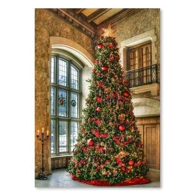 Americanflat Christmas Tree 2015 Photographic Print on Wrapped Canvas