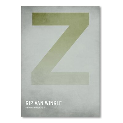 Americanflat 'Rip Van Winkle' by Christian Jackson Graphic Art on Wrapped Canvas