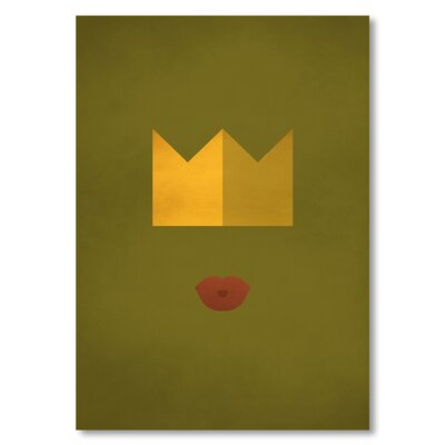 Americanflat 'Frog Prince' by Christian Jackson Graphic Art on Wrapped Canvas