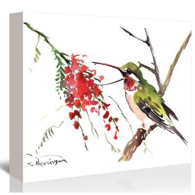 Americanflat 'Hummingbird' by Suren Nersisyan Art Print Wrapped on Canvas