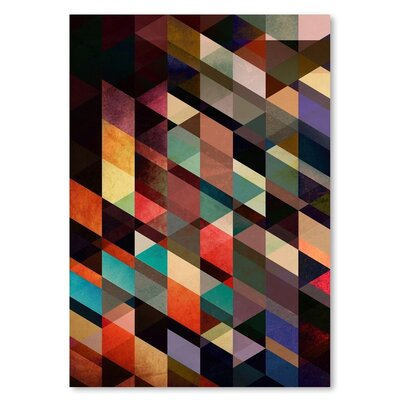 Americanflat Lyssyns Graphic Art Wrapped on Canvas