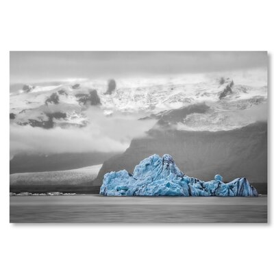 Americanflat 'Iceberg' by Lina Kremsdorf Graphic Art on Wrapped Canvas