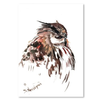 Americanflat 'Owl 8' by Suren Nersisyan Art Print Wrapped on Canvas