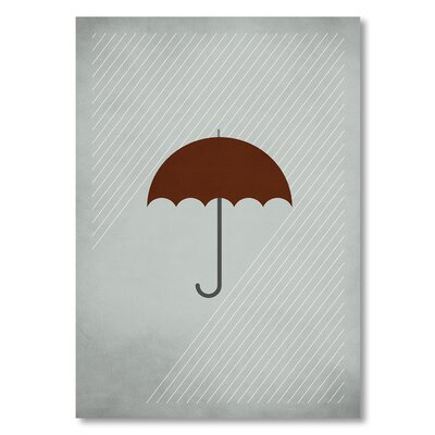 Americanflat 'Mary Poppins' by Christian Jackson Graphic Art Wrapped on Canvas