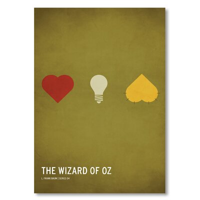 Americanflat 'Wizard of Oz' by Christian Jackson Graphic Art on Wrapped Canvas