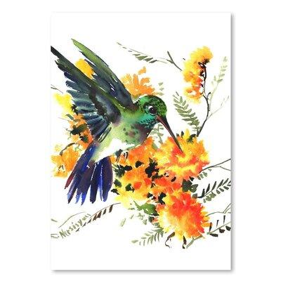 Americanflat 'Hummingbird 6' by Suren Nersisyan Art Print Wrapped on Canvas