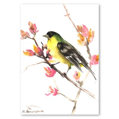 Americanflat 'Finch' by Suren Nersisyan Painting Print on Wrapped Canvas
