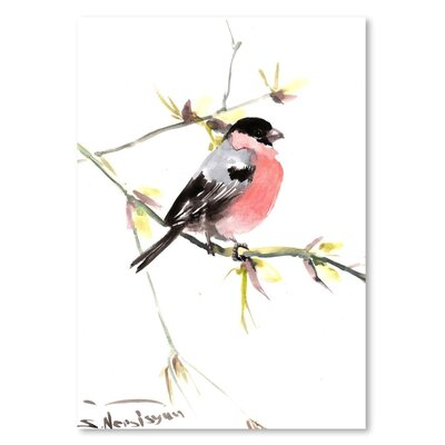 Americanflat 'Bullfinch 3' by Suren Nersisyan Art Print Wrapped on Canvas