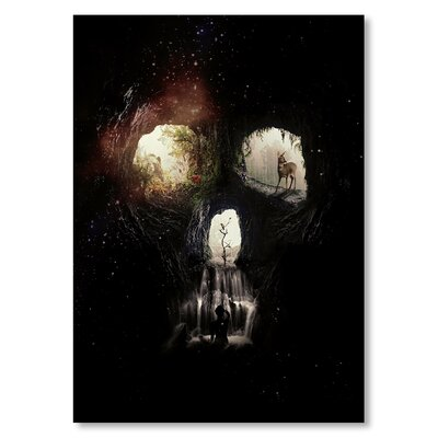 Americanflat 'Caves' by Ali Gulec Graphic Art Wrapped on Canvas