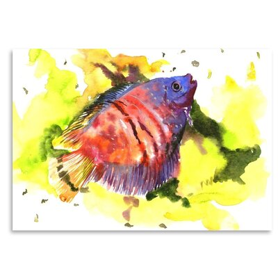 Americanflat Dwarfish Art Print Wrapped on Canvas
