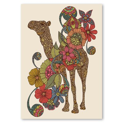 Americanflat 'Easy Camel' by Valentina Ramos Graphic Art on Wrapped Canvas