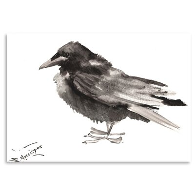Americanflat 'Crow 6' by Suren Nersisyan Art Print Wrapped on Canvas