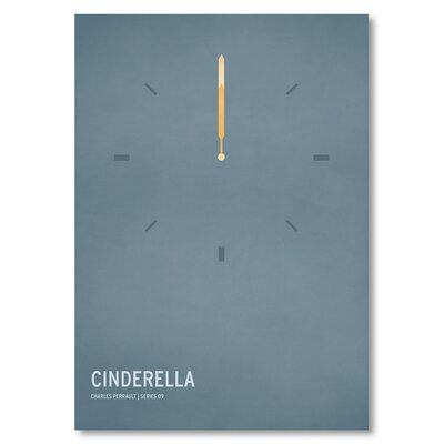 Americanflat 'Cinderella' by Christian Jackson Graphic Art on Wrapped Canvas