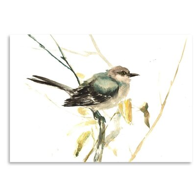 Americanflat Mockingbird Graphic Art on Wrapped Canvas