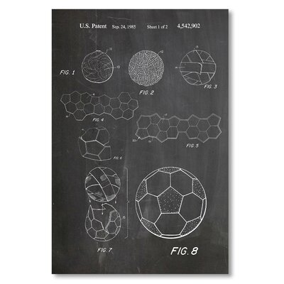 Americanflat 'Making Soccer Ball' by House of Borders Graphic Art on Wrapped Canvas