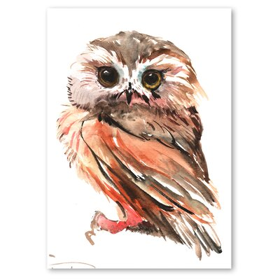 Americanflat 'Owl 3' by Suren Nersisyan Art Print Wrapped on Canvas