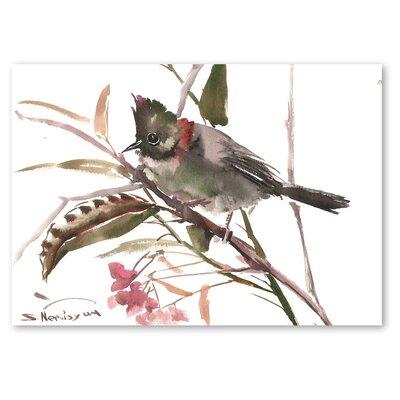 Americanflat 'Yuhina Bird' by Suren Nersisyan Art Print Wrapped on Canvas